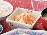 生活提案、レシピ、献立、ごぼうと人参の生姜マヨ和え、1540