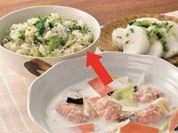 生活提案、レシピ、献立、ブロッコリーと生姜の混ぜご飯、1548