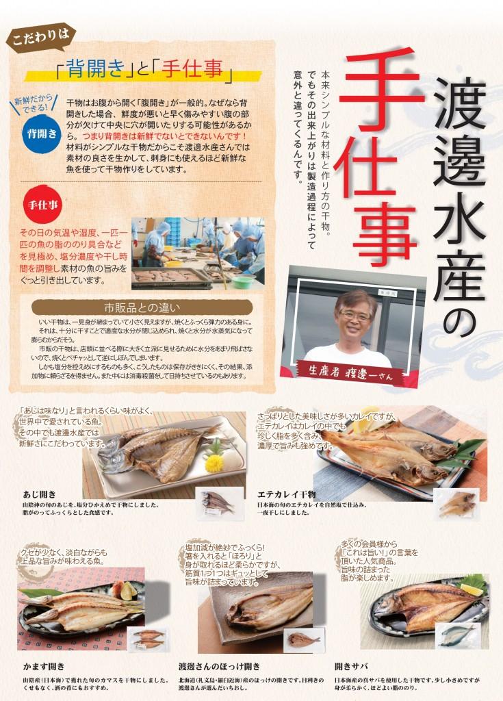 渡邊水産商品紹介