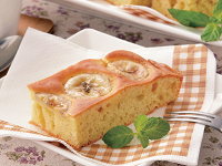 生活提案、レシピ、献立、完熟バナナのヨーグルトケーキ、1608