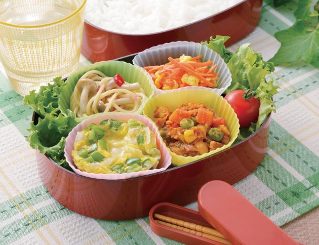 生活提案おすすめ献立16.16号、お弁当、冷凍おかず、秋川牧園、献立、レシピ