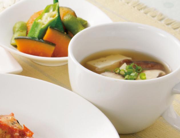 生活提案、レシピ、献立、豆腐のオイスタースープ、1619