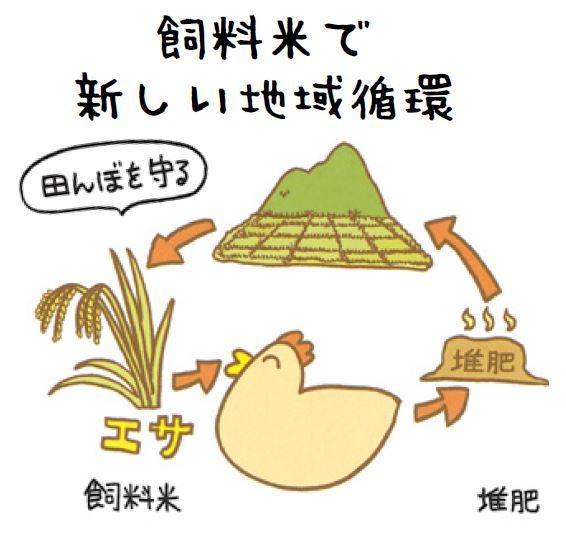 飼料米で新しい地域循環