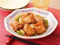生活提案、レシピ、献立、はちみつ入りまろやか黒酢鶏、1724