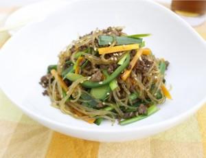 生活提案、レシピ、献立、野菜たっぷりお手軽チャプチェ、1729、秋川牧園、常備菜、リメイク、作り置き