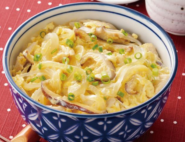 生活提案、レシピ、献立、親子丼、1723、秋川牧園、ささみ、卵