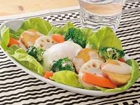 生活提案、レシピ、献立、温泉卵ホットサラダ、1740、秋川牧園