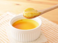 生活提案、レシピ、献立、かぼちゃペーストで簡単かぼちゃプリン、1741、秋川牧園