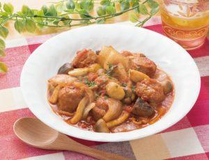 ボール 煮込み ミート トマト アルボンディガス(スペイン風肉だんご)|スペイン料理簡単レシピ集